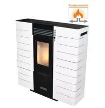 Centrometal CentroPelet ZS10 elcsatornázható meleglevegős pelletkályha (fehér)