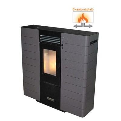 Centrometal CentroPelet ZS10 elcsatornázható meleglevegős pelletkályha (szürke)