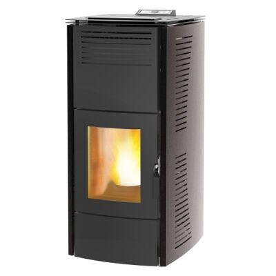Centrometal CentroPelet ZV16 (16,1 kW) meleg levegős és vízteres pellet tüzelésű kandalló, kályha (szürke)
