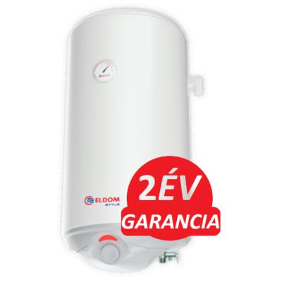 ELDOM Style D 120 literes zománcozott elektromos vízmelegítő száraz fűtőbetéttel (2 kW - 435 mm Ø)