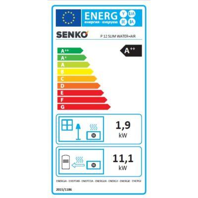 Energia cimke - SENKO P 12 SLIM WATER + AIR