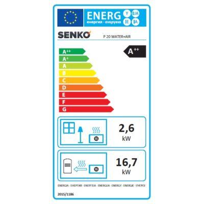 Energia cimke - SENKO P 20 WATER+AIR