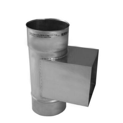 Ø180mm, padlástéri tisztító idom 0,8mm-es saválló anyagból