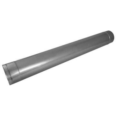 Ø150 mm, 1000 mm-es hosszúságú kémény béléscső (ovális)