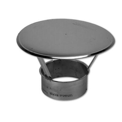 Ø140mm, esővédő kalap 0,8mm-es saválló anyagból