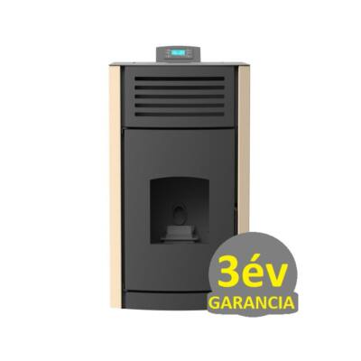 RUBYNOR ONYX HYDRO 30 vízteres agri pellet tüzelésű kályha (30,5 kW - krém)