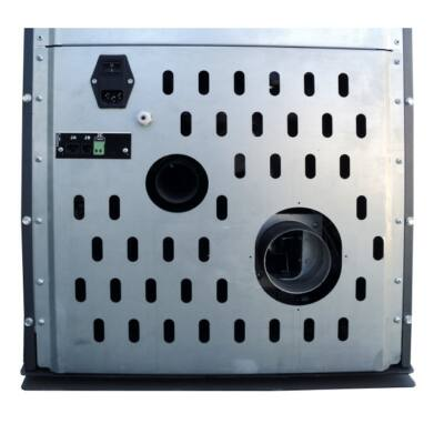 SENKO P 10 AIR - füstcső és friss levegő csatlakozás