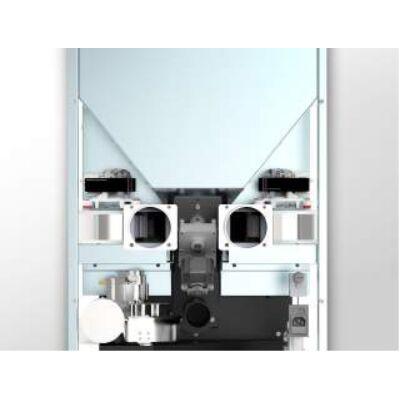 CentroPelet Z14C - 2db elcsatornázható csatlakozással, 2 db ventilátorral