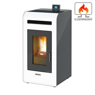 Centrometal CentroPelet Z14 C elcsatornázható meleg levegős pellet tüzelésű kályha (fehér)