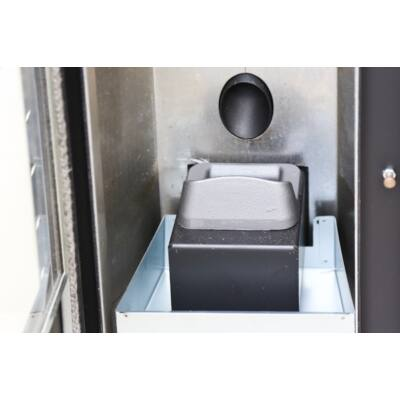Centrometal CentroPelet Z12 légfűtéses pellet kandalló (9 kW - fehér)