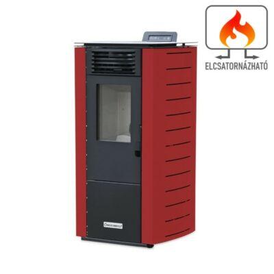 Centrometal CentroPelet Z12 C (9 kW) elcsatornázható meleglevegős pelletkályha (bordó)
