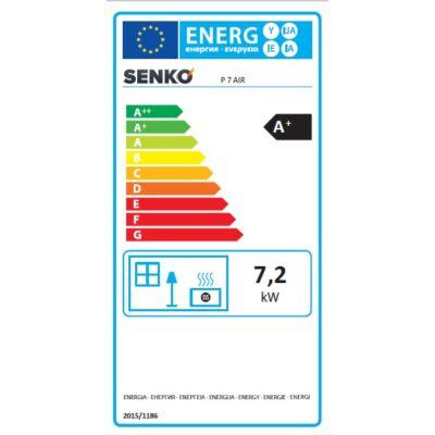 Energia cimke - SENKO P 7 AIR