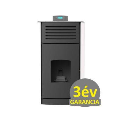 RUBYNOR ONYX HYDRO 30 vízteres agri pellet tüzelésű kályha (30,5 kW - fehér)