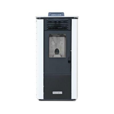 Centrometal CentroPelet Z12 C (9 kW) elcsatornázható meleglevegős pelletkályha (fehér)